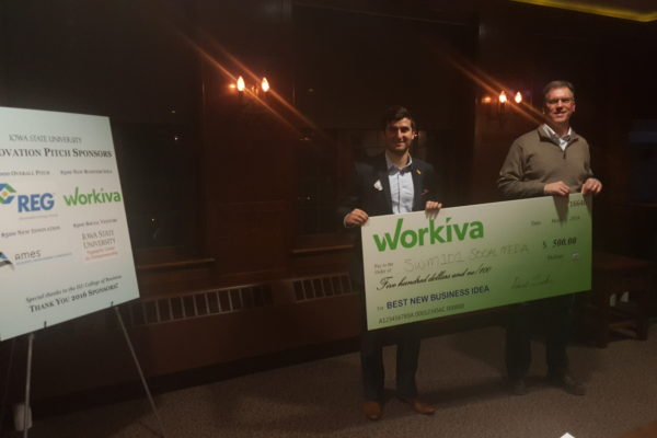 Meet the winners of the Iowa State Innovation Pitch Competition