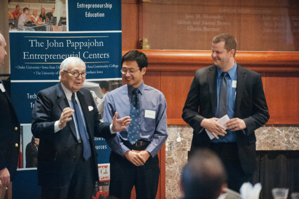 Winners announced for 12th Annual John Pappajohn Iowa Entrepreneurial Venture Competition