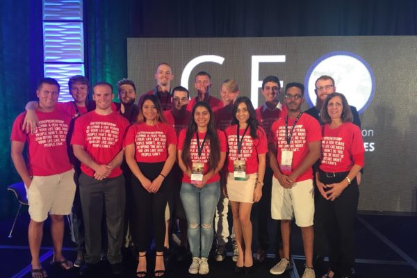 ISU Entrepreneur Club travels to Tampa, Florida for the CEO Conference