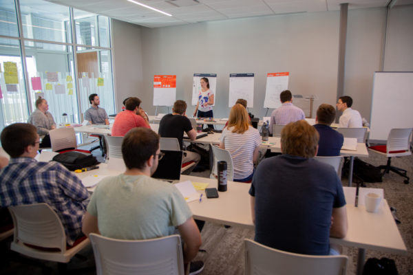 CYstarters mentors offer support, push for new startups