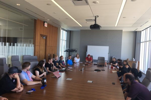Accountability sessions give ISU student startups time to set benchmarks
